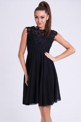 Evalola sukienka czarny26012-2