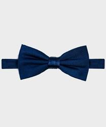 Muszka jedwabna męska w kolorze navy blue