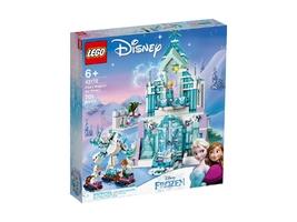 Klocki lego disney princess 43172 magiczny lodowy pałac elsy