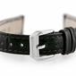 Pasek skórzany do zegarka w64 - czarny - 14mm