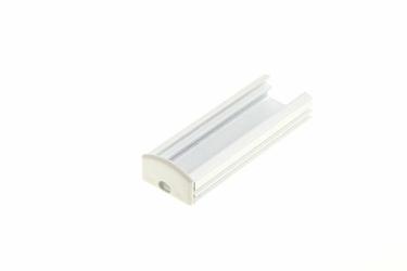 Profil aluminiowy anodowany + przesłona mleczna - M2mb
