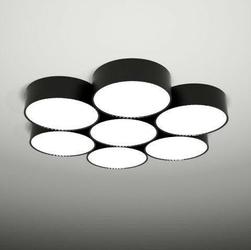 Shilo :: Plafon  lampa sufitowa  ZAMA 134 - kolor do wyboru - 134 czarna