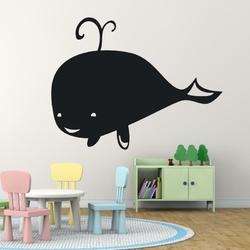 naklejka tablicowa dla dzieci wieloryb 1TK87