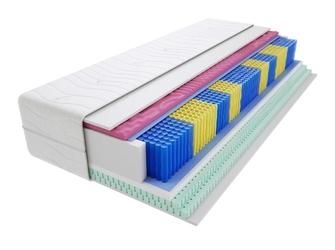 Materac kieszeniowy sparta molet multipocket 125x125 cm średnio twardy 2x lateks