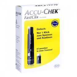 Accu chek fastclix modell ii