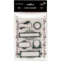 Stemple do cardmakingu - ramki ozdobne