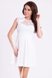Emamoda sukienka - biały 12001-4