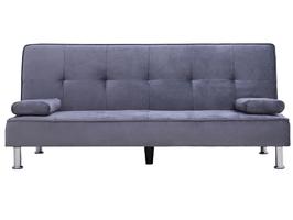 Sofa trzyosobowa z funkcją spania divi szara welur