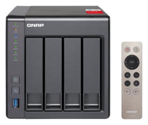 SIECIOWY SERWER PLIKÓW NAS QNAP TS-451+ -2G - Szybka dostawa lub możliwość odbioru w 39 miastach