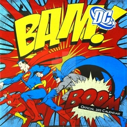 DC Comics - kalendarz 2013