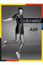 Gabriella 382 confetti 20den nero rajstopy