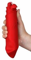 Zwijane wiaderko silikonowe Scrunch-bucket red