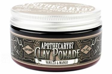 Apothecary87 clay pomade vanilla  mango - pomada do włosów 100 ml