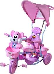 Rower trójkołowy t-30 2830 wiewiórka różowy