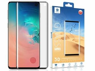 Szkło Mocolo 3D czytnik linii do Samsung Galaxy S10 czarne