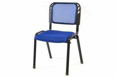 Krzesło konferencyjne niebieskie