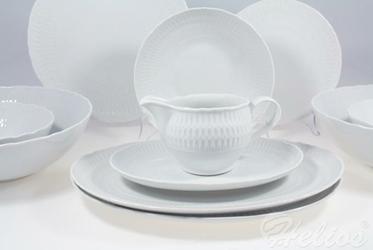 Serwis obiadowy bez wazy dla 12 os.  44 części - SOFIA Niedekorowana