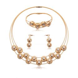 Biżuteria zestaw kółeczka