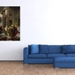 targ dywanów w kairze - jean-leon gerome ; obraz - reprodukcja