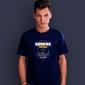 Ratownik morski t-shirt męski granatowy s