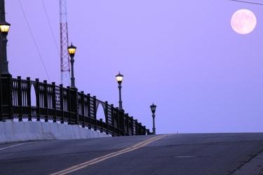 Fototapeta na ścianę malownicze świecące latarnie fp 2211