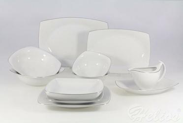 Serwis obiadowy bez wazy dla 12 os.  44 części - 9718 AKCENT