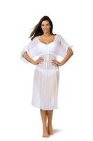 Sukienka plażowa marko dora bianco m-443 1