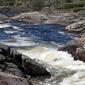 Fototapeta spieniona rwąca rzeka fp 1423