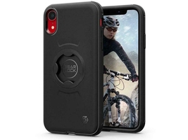 Etui spigen gearlock cf102 bike mount do iphone xr black + uchwyt ms100
