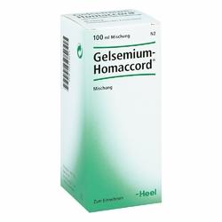 Gelsemium Homaccord w kroplach