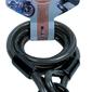 Oxford linka, zabezpieczenie loop lock, kolor czarny, 180 cm