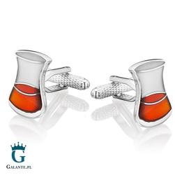 Spinki do mankietów szklanka whisky kc-1091