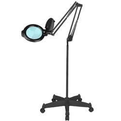 Lampa lupa led moonlight 80125 black ze statywem