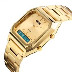 Zegarek SKMEI 1220 LED BRANSOLETA gold - GOLD
