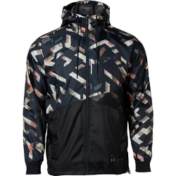 Kurtka męska under armour unstoppable windbreaker - czarny