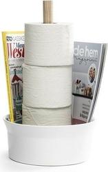 Stojak na papier toaletowy born in sweden biały