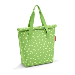 Torba Fresh Lunchbag L Spots Green Reisenthel