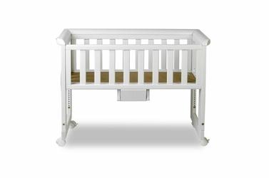 Bedside Crib łóżeczko dostawne k. biały