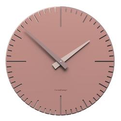 Zegar ścienny okrągły 36 cm exacto calleadesign pochmurny róż 10-025-33