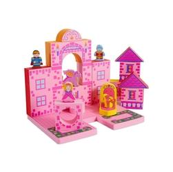 Zabawka do kąpieli bathblocks - zamek księżniczki 17 el.