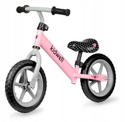 Kidwell rebel różowy rowerek biegowy + prezent 3d