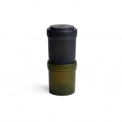 Herobility - pojemnik 2x100 ml, czarnyzielony, 2 szt.