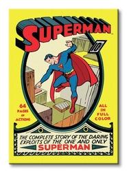 Superman no.1 - obraz na płótnie