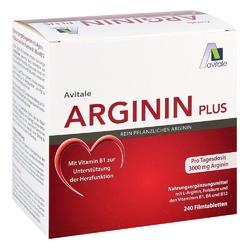 Arginin plus witamina b1+b6+b12+ kwas foliowy tabletki powlekane