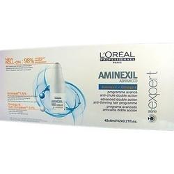 Loreal aminexil advanced, kuracja zapobiegająca wypadaniu włosów 42x6ml