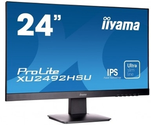 Monitor led iiyama xu2492hsu-b1 24 hdmi ultra slim - szybka dostawa lub możliwość odbioru w 39 miastach