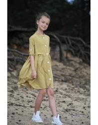 Miodowa sukienka