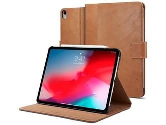 Etui ipad pro 11 2018 spigen stand folio brown - brązowy