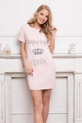 Koszula nocna aruelle princess queen pink