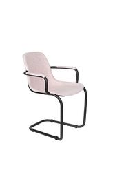Zuiver krzesło do jadalni thirsty jasno różowy 1200215